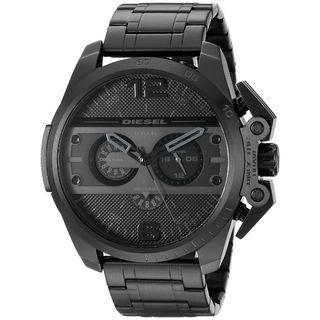 Diesel Men's DZ4362 'Ironside' Chronograph Black Stainless Steel Watch