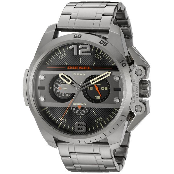 Diesel Men's DZ4363 'Ironside' Chronograph Grey Stainless Steel Watch