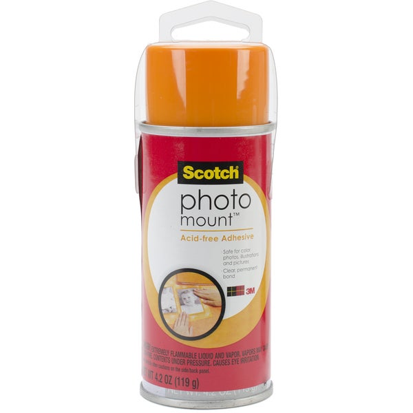 Photo Mount Spray Adhesive4.23oz