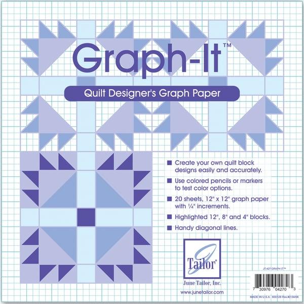 GraphIt Graph Paper12inX12in 20/Pkg
