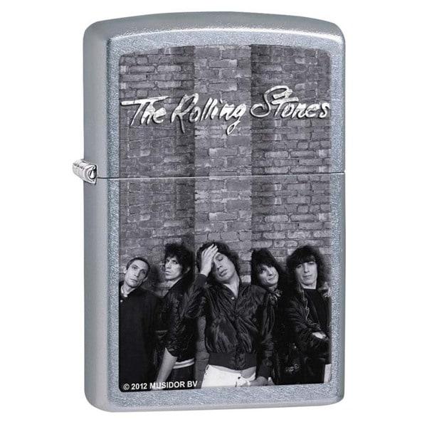 Zippo Rolling Stones Street Chrome Lighter
