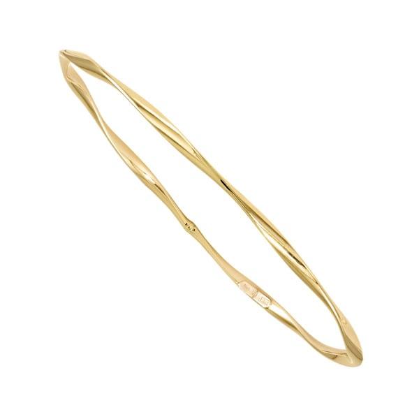 10k Gold Slip-on Bangle
