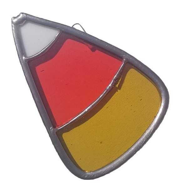 Stained Glass Candy Corn Suncatcher 16241916