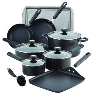 Circulon(r) 2 Hard-Anodized Nonstick 13-Piece Cookware Set, Black