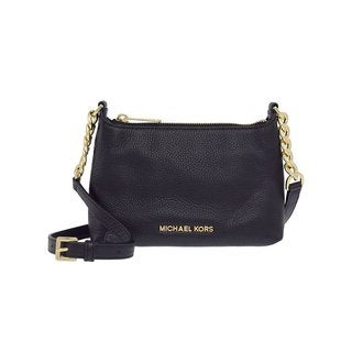 MICHAEL Michael Kors Bedford Black/ Gold Crossbody