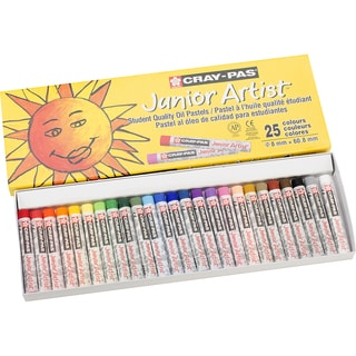 CrayPas Junior Artist Oil Pastels25/Pkg