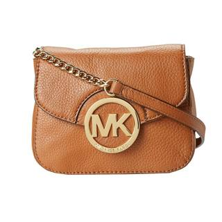 Michael Kors Fulton Small Luggage Brown Crossbody Handbag