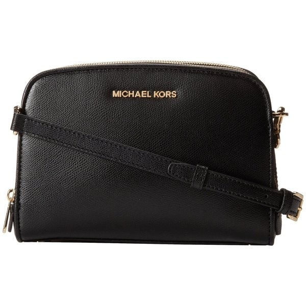 MICHAEL Michael Kors Reese Black Medium Messenger Bag