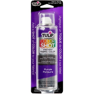Tulip Color Shot Instant Fabric Color Spray 3ozPurple