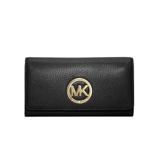 MICHAEL Michael Kors Fulton Black Carryall Wallet