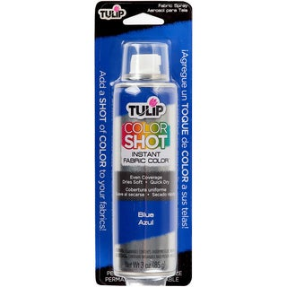 Tulip Color Shot Instant Fabric Color Spray 3ozBlue