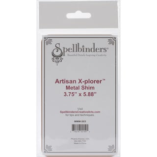 Artisan XPlorer Metal Shim3.75inX5.88in
