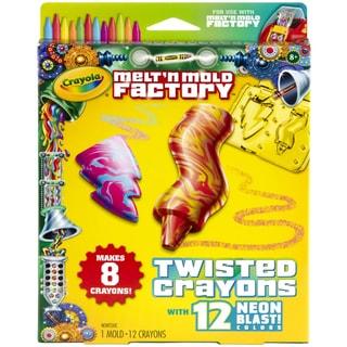 Crayola Melt 'n Mold Factory KitTwisted Crayons Neon Blast