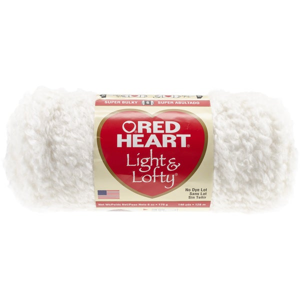 Red Heart Light & Lofty YarnPuff