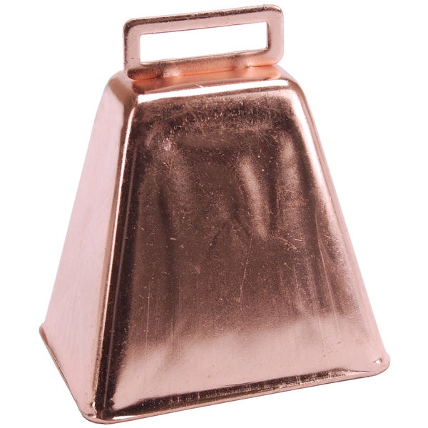 Cow Bell 3in 1/PkgCopper
