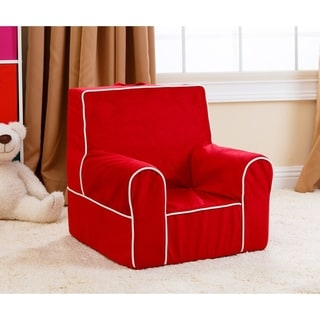 Abbyson Living Kids Baby's 1st Red Everywhere Chair