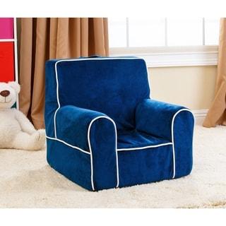 Abbyson Living Kids Baby's 1st Navy Blue Everywhere Chair