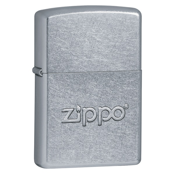 Zippo Ring of Fire Satin Chrome Lighter
