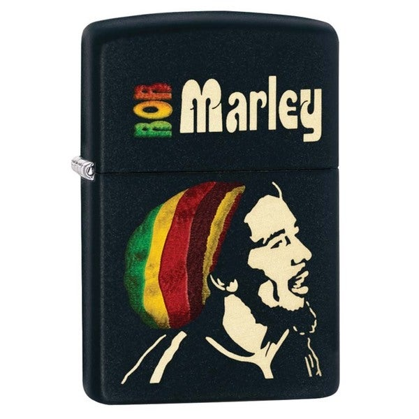 Zippo Bob Marley Black Matte Lighter