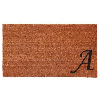 Urban Chic Monogram Doormat (1'6 x 2'6)
