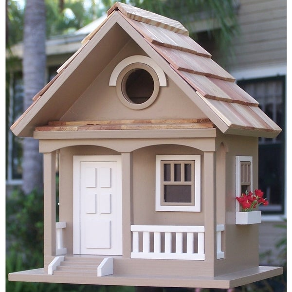 Cafe Au Lait Cottage Birdhouse