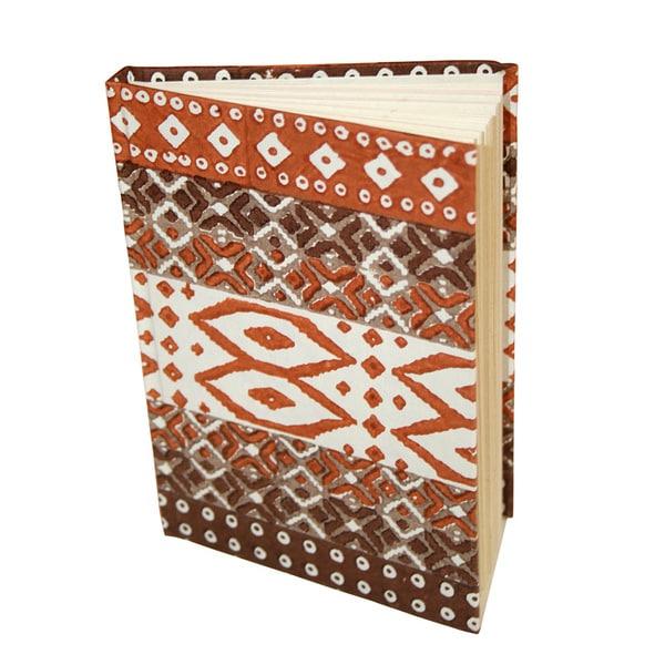 Abstraction Handmade Hardcover Journal