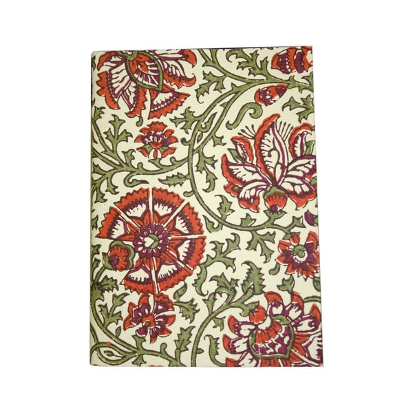 Coral Handmade Softcover Journal