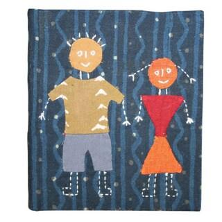 Yin Yang Handmade Hardcover Fabric Journal
