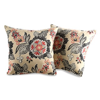 Ondeck Waverly Decorative Outdoor Throw Pillow (Set of 2)