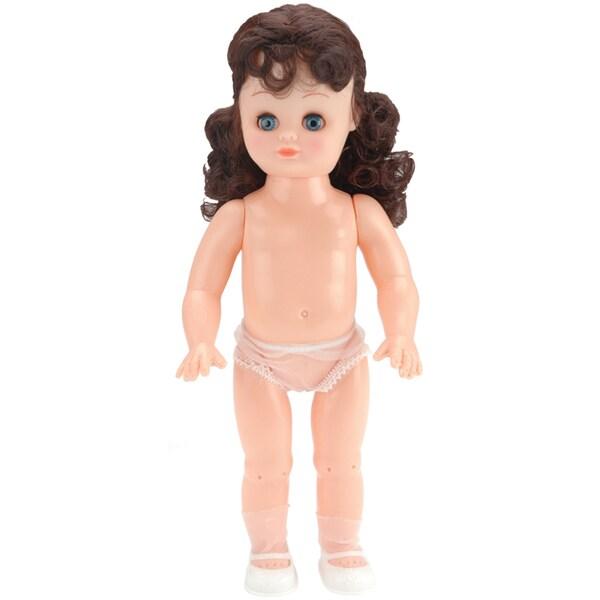 Girl Fashion Doll 13.5inBrown Hair