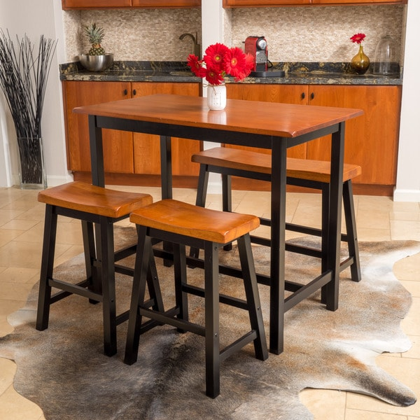 Christopher Knight Home Pomeroy 4 Piece Wood Dining Set