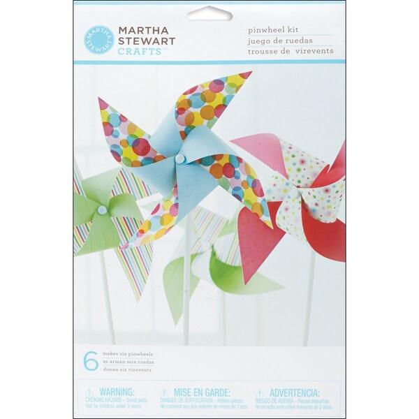 Martha Stewart 491719 Modern Festive Pinwheel Kit - Makes 6