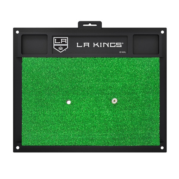 Fanmats Los Angeles Kings Green Rubber Golf Hitting Mat