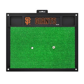 Fanmats San Francisco Giants Green Rubber Golf Hitting Mat