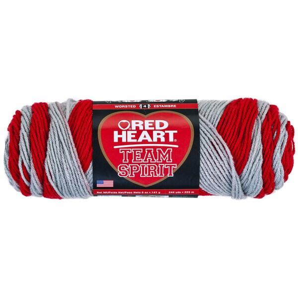 Red Heart Team Spirit YarnRed & Grey