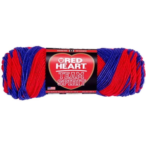 Red Heart Team Spirit YarnRed & Blue