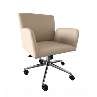Comfico Modern Conference Chair in Ivory (Set of 2)