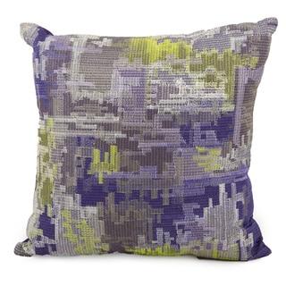 Mina Victory by Nourison Life Styles Purple Pillow (16 x 16)