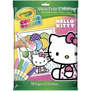 Crayola Color Wonder Mess Free Coloring KitHello Kitty
