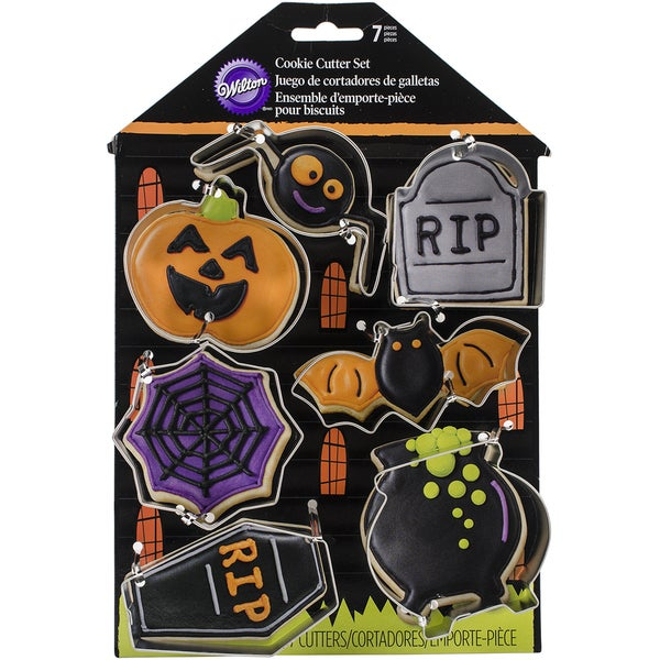 Cookie Cutter Set 7pcsHaunted House