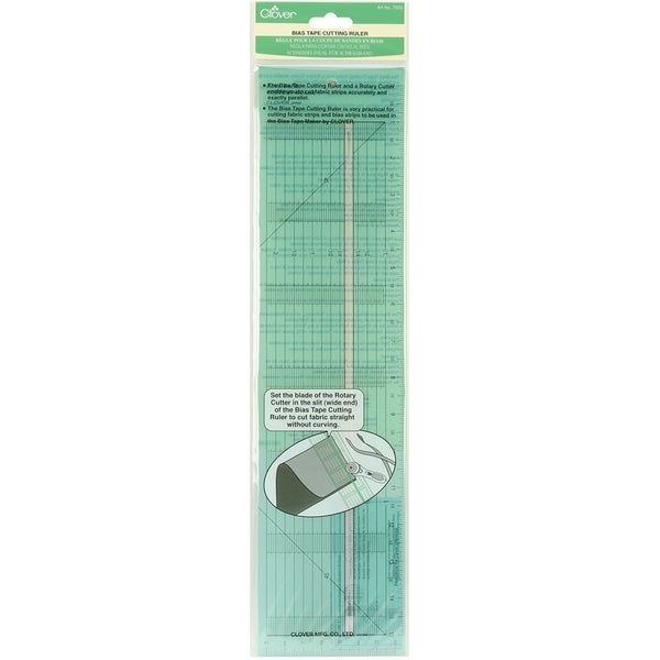 Bias Tape Cutting Ruler15inX31/2in