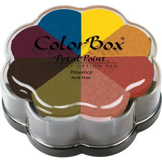 ColorBox Pigment Petal Point Option Pad 8 ColorsProvence