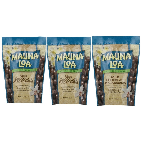 Mauna Loa Milk Chocolate Macadamias Nuts