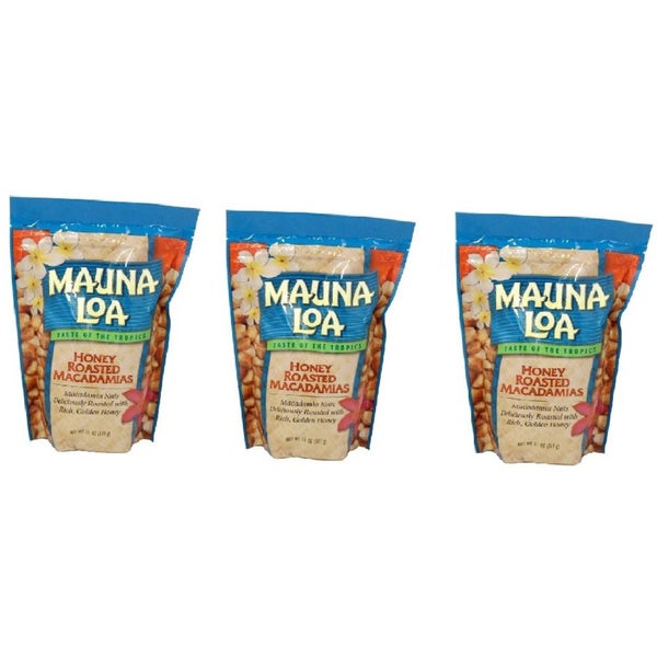 Mauna Loa Honey Roasted Macadamia Nuts