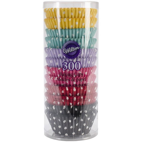 Standard Baking CupsPolka Dots 300/Pkg 16245764