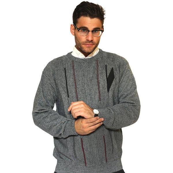 Grey Cooper Crew Neck Sweater
