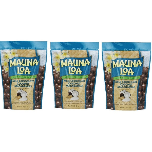 Mauna Loa Milk Chocolate Coconut Macadamia Nuts