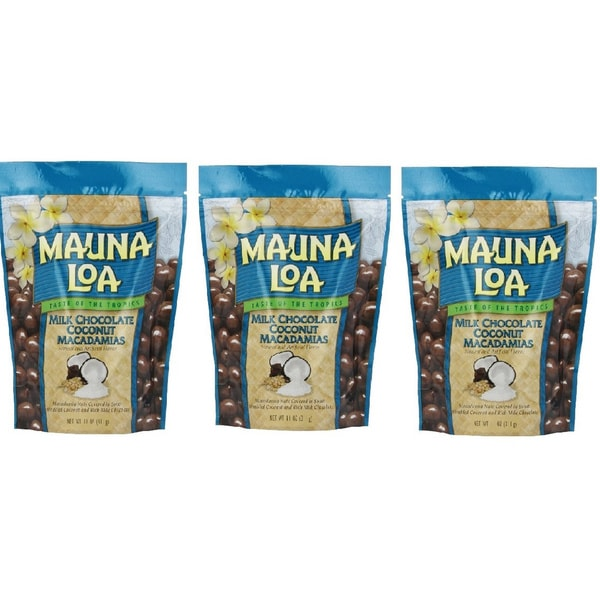 Mauna Loa Milk Chocolate Coconut Macadamia Nuts