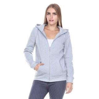 Stanzino Women's Casual Long Sleeve Basic Hoodie Zip Up Sweater