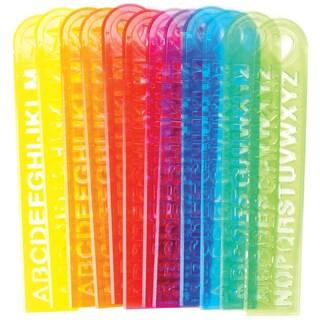 Party Favors 12/Pk Alphabet Rulers